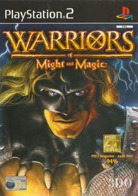Portada oficial de Warriors of Might & Magic para PS2