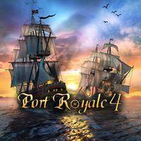 Portada oficial de Port Royale 4 para PS4