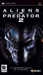 Portada oficial de de Alien vs Predator 2 para PSP