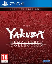 Portada oficial de The Yakuza Remastered Collection para PS4