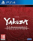 Portada oficial de de The Yakuza Remastered Collection para PS4