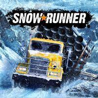 Portada oficial de SnowRunner para PS4