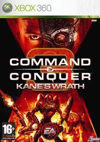 Portada oficial de Command & Conquer 3: La Ira de Kane para Xbox 360