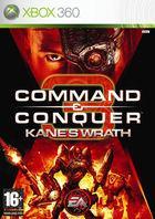 Portada oficial de de Command & Conquer 3: La Ira de Kane para Xbox 360