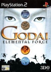 Portada oficial de GoDai: Elemental Force para PS2