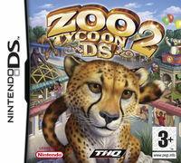 Portada oficial de Zoo Tycoon 2 para NDS