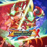 Portada oficial de Mega Man Zero/ZX Legacy Collection para PS4