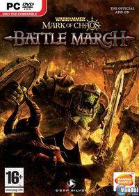 Portada oficial de Warhammer: Battle March para PC