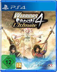 Portada oficial de Warriors Orochi 4 Ultimate para PS4