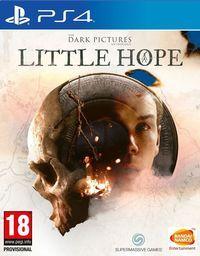 Portada oficial de Little Hope para PS4