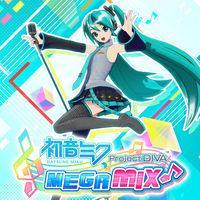 Portada oficial de Hatsune Miku: Project Diva MegaMix para Switch