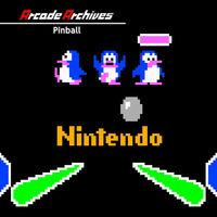 Portada oficial de Arcade Archives Pinball para Switch
