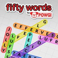 Portada oficial de Fifty Words by POWGI para Switch