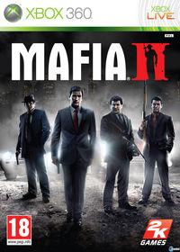 Portada oficial de Mafia II para Xbox 360
