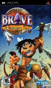 Portada oficial de Brave para PSP