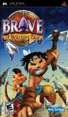 Portada oficial de de Brave para PSP