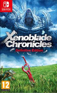 Portada oficial de Xenoblade Chronicles: Definitive Edition para Switch
