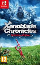 Portada oficial de de Xenoblade Chronicles: Definitive Edition para Switch