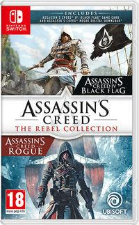Portada oficial de Assassin's Creed: The Rebel Collection para Switch