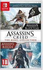 Portada oficial de de Assassin's Creed: The Rebel Collection para Switch