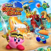 Portada oficial de Super Kirby Clash para Switch