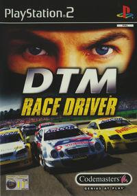 Portada oficial de Pro Race Driver para PS2