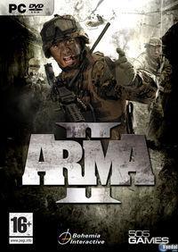 Portada oficial de ArmA II para PC