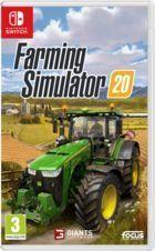 Portada oficial de de Farming Simulator 20 para Switch