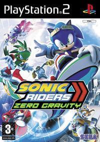 Portada oficial de Sonic Riders: Zero Gravity para PS2