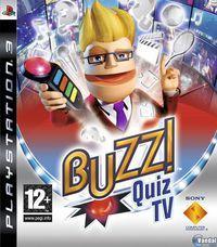 Portada oficial de Buzz! Quiz TV para PS3