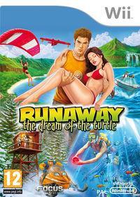 Portada oficial de Runaway 2, The Dream of the Turtle para Wii