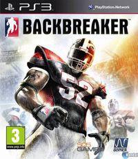 Portada oficial de Backbreaker para PS3