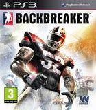Portada oficial de de Backbreaker para PS3