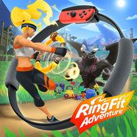 Portada oficial de Ring Fit Adventure para Switch