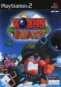 Portada oficial de Worms Blast para PS2