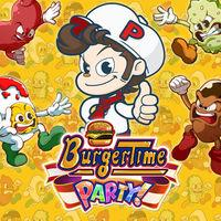 Portada oficial de BurgerTime Party! para Switch