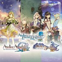 Portada oficial de Atelier Dusk Trilogy Deluxe Pack para PS4