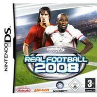 Portada oficial de Real Futbol 2008 para NDS