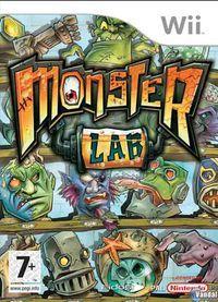 Portada oficial de Monster Lab para Wii