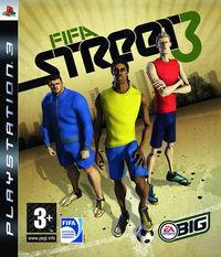 Portada oficial de FIFA Street 3 para PS3