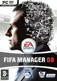 Portada oficial de FIFA Manager 08 para PC