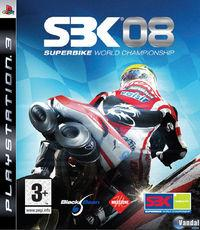 Portada oficial de SBK-08 Superbike World Championship para PS3