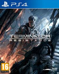 Portada oficial de Terminator: Resistance para PS4