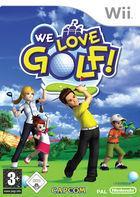 Portada oficial de de We Love Golf! para Wii