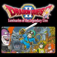 Portada oficial de Dragon Quest II: Luminaries of the Legendary Line para Switch