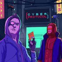 Portada oficial de Cyber Protocol para Switch