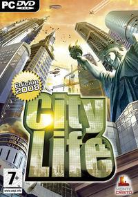 Portada oficial de City Life Edition 2008 para PC