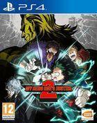 Portada oficial de de My Hero One's Justice 2 para PS4