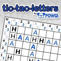 Portada oficial de Tic-Tac-Letters by POWGI para Switch