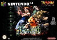 Portada oficial de Sin and Punishment para Nintendo 64